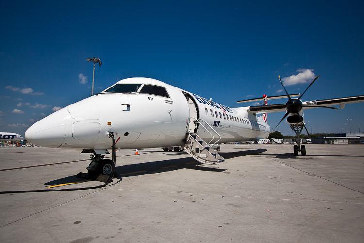 Bombardier Q400 linii LOT